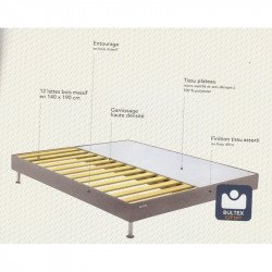 Sommier Bultex 90x190 Robusto